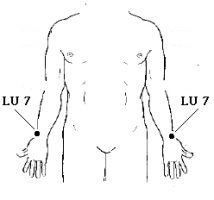 Lung Meridian Point 7