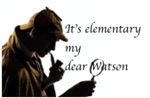 it's elementary my dear Watson pic